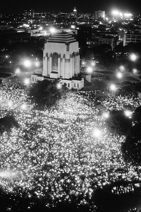 Carols by candlelight in Hyde Park, 1970 (NAA, A1200, L85587)